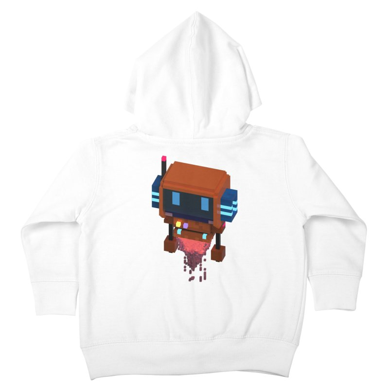 FY - Voxie Rocket Kids Toddler Zip-Up Hoody by My pixEOS Artist Shop
