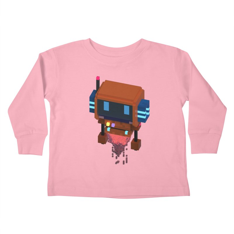 FY - Voxie Rocket Kids Toddler Longsleeve T-Shirt by My pixEOS Artist Shop