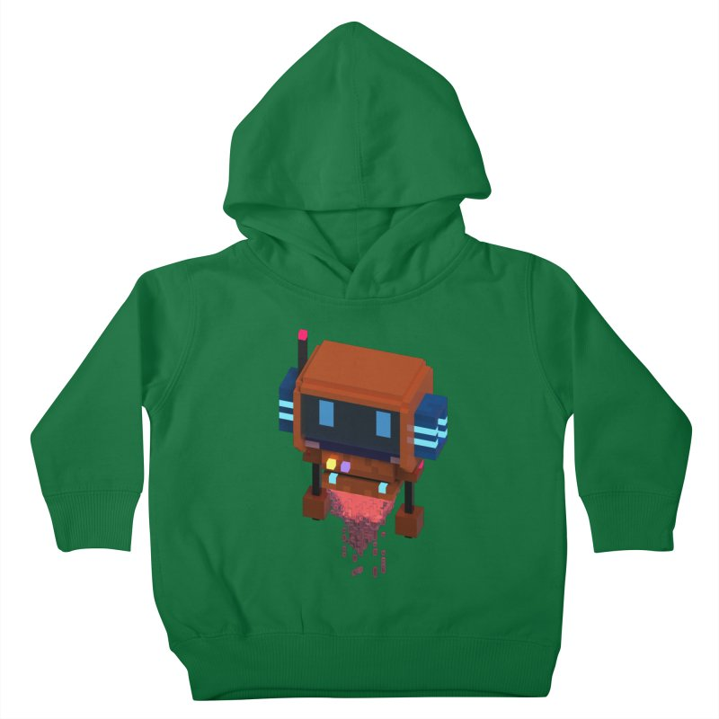 FY - Voxie Rocket Kids Toddler Pullover Hoody by My pixEOS Artist Shop