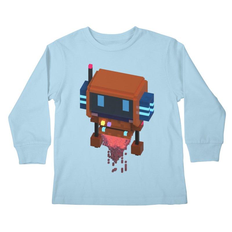FY - Voxie Rocket Kids Longsleeve T-Shirt by My pixEOS Artist Shop