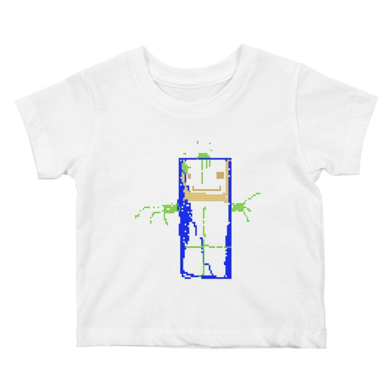 YM - Hello World Kids Baby T-Shirt by My pixEOS Artist Shop