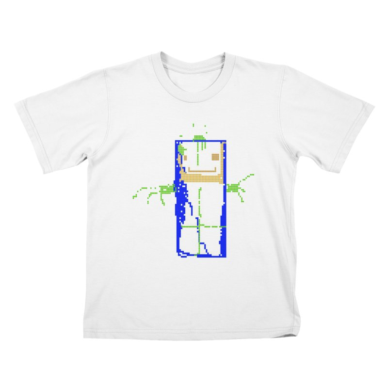 YM - Hello World Kids T-Shirt by My pixEOS Artist Shop