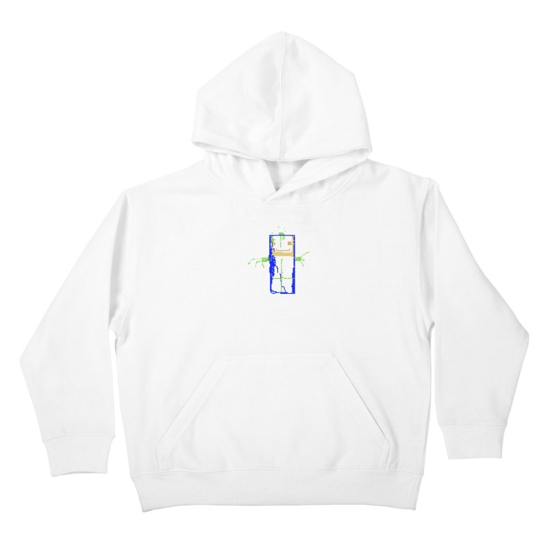 YM - Hello World Kids Pullover Hoody by My pixEOS Artist Shop