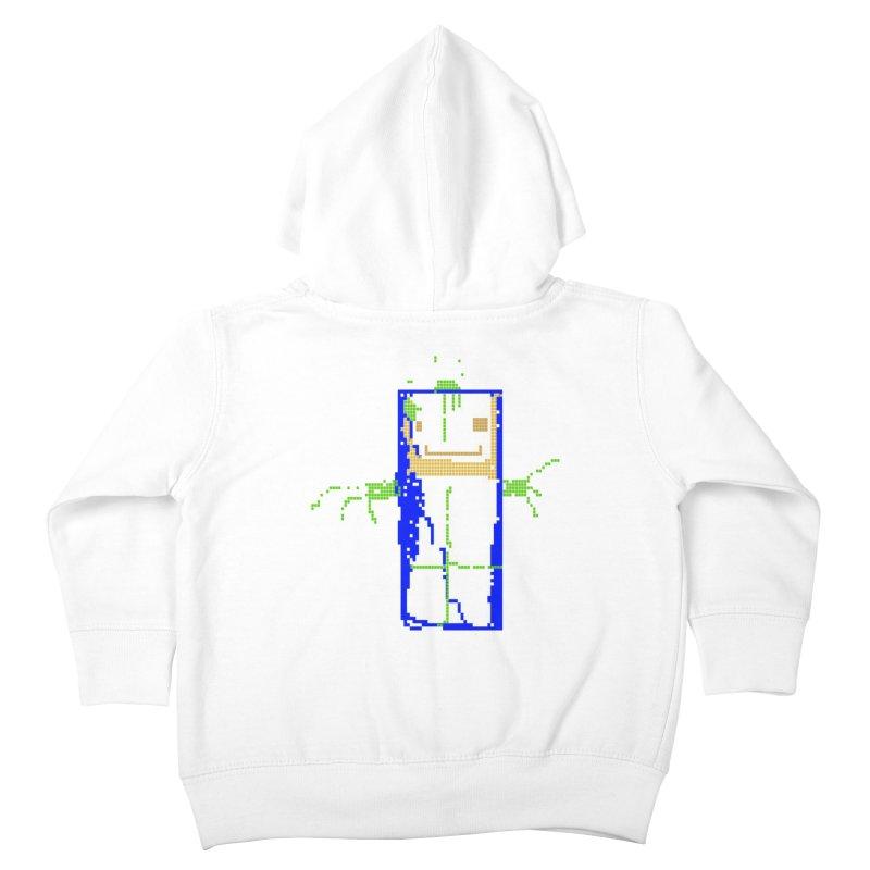 YM - Hello World Kids Toddler Zip-Up Hoody by My pixEOS Artist Shop