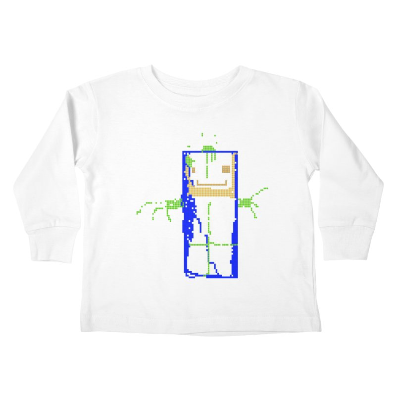 YM - Hello World Kids Toddler Longsleeve T-Shirt by My pixEOS Artist Shop