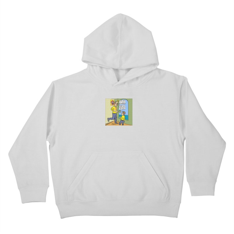 JC - Bitcoin Only Kids Pullover Hoody by My pixEOS Artist Shop