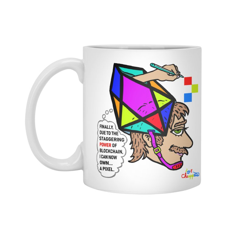 JC - Pixel Power Accessories Mug by My pixEOS Artist Shop