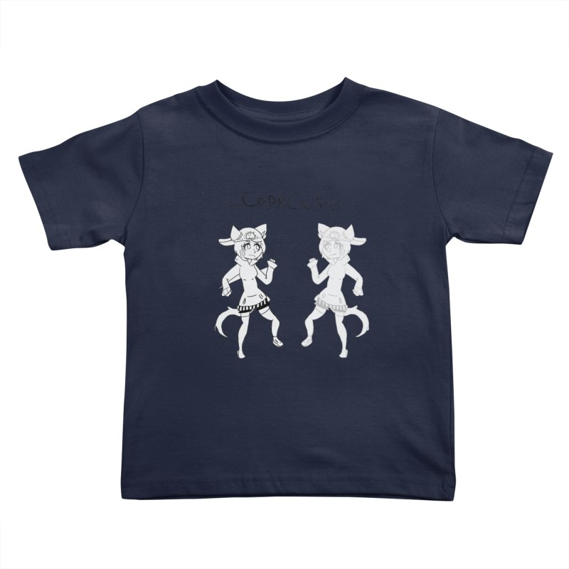 HA - Copy Cat Kids Toddler T-Shirt by My pixEOS Artist Shop