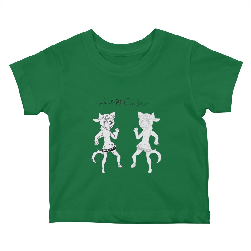 HA - Copy Cat Kids Baby T-Shirt by My pixEOS Artist Shop