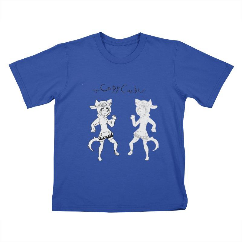 HA - Copy Cat Kids T-Shirt by My pixEOS Artist Shop