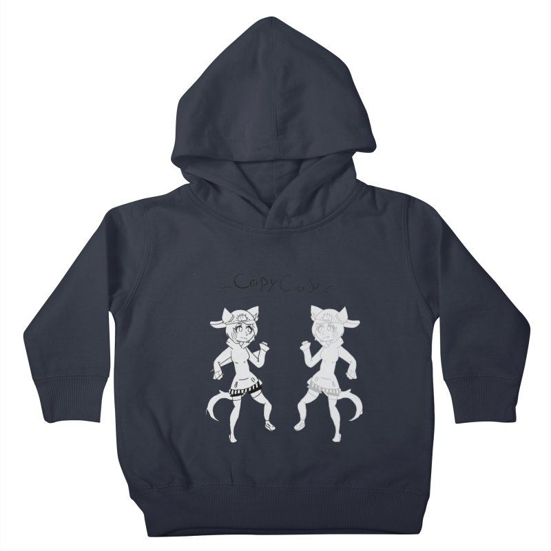 HA - Copy Cat Kids Toddler Pullover Hoody by My pixEOS Artist Shop