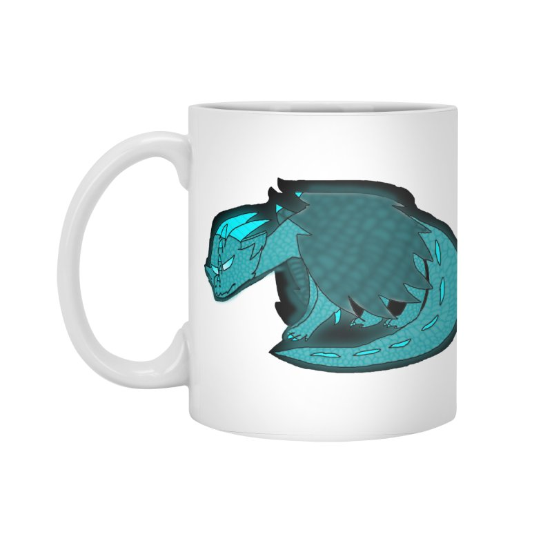 HA - Dragon Accessories Standard Mug by My pixEOS Artist Shop