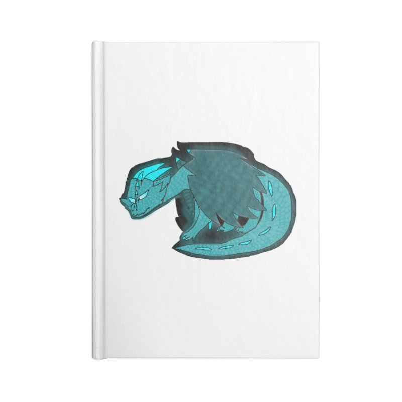 HA - Dragon Accessories Lined Journal Notebook by My pixEOS Artist Shop
