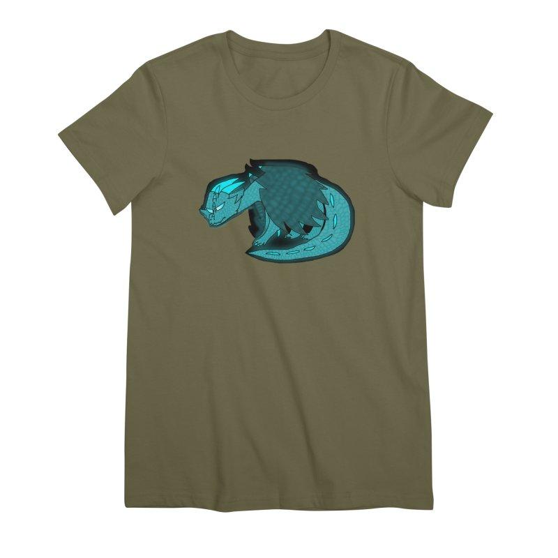 HA - Dragon Women's Premium T-Shirt by My pixEOS Artist Shop