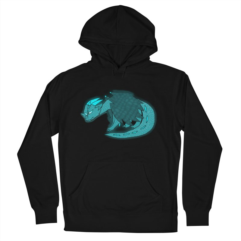 HA - Dragon Women's French Terry Pullover Hoody by My pixEOS Artist Shop