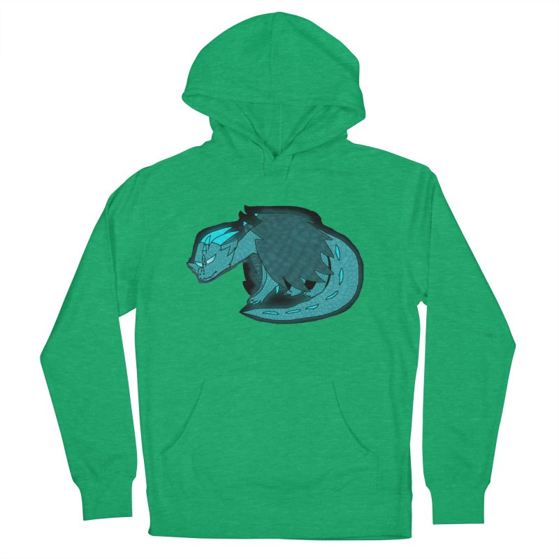 HA - Dragon Men's French Terry Pullover Hoody by My pixEOS Artist Shop