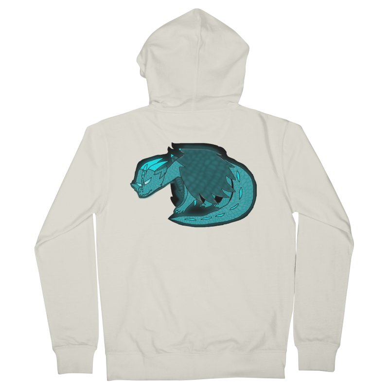 HA - Dragon Women's French Terry Zip-Up Hoody by My pixEOS Artist Shop