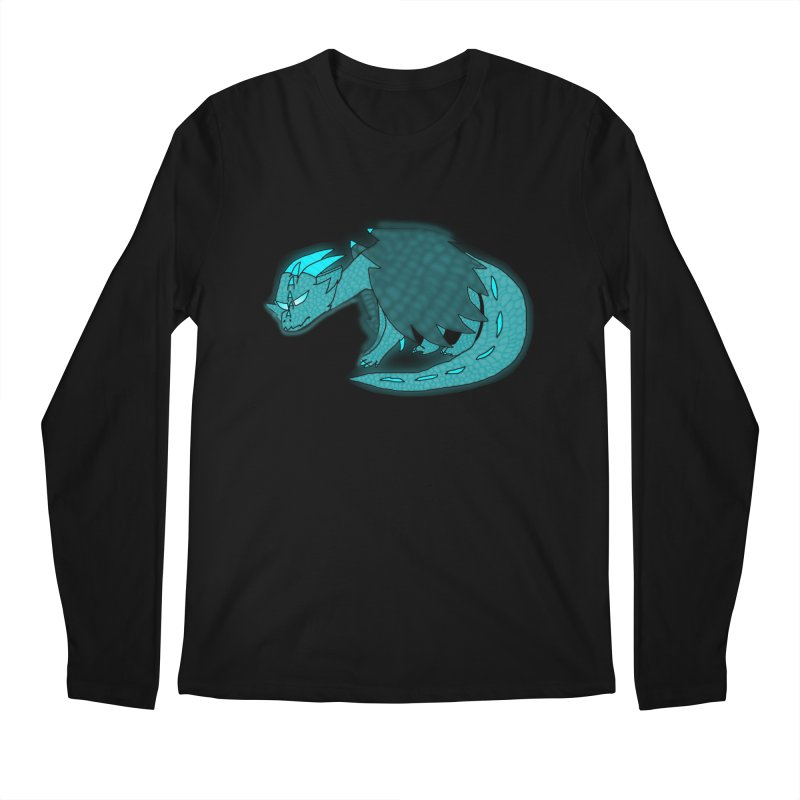 HA - Dragon Men's Regular Longsleeve T-Shirt by My pixEOS Artist Shop