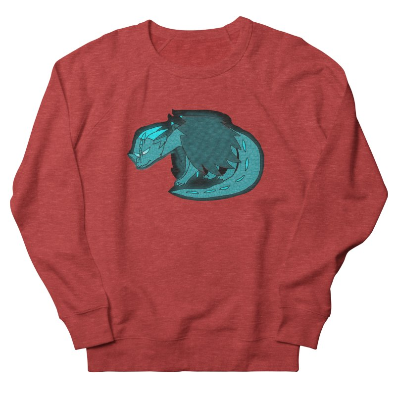 HA - Dragon Women's French Terry Sweatshirt by My pixEOS Artist Shop