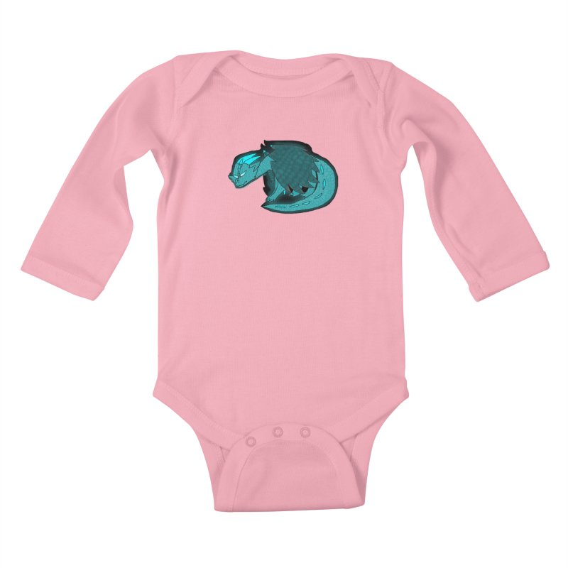 HA - Dragon Kids Baby Longsleeve Bodysuit by My pixEOS Artist Shop