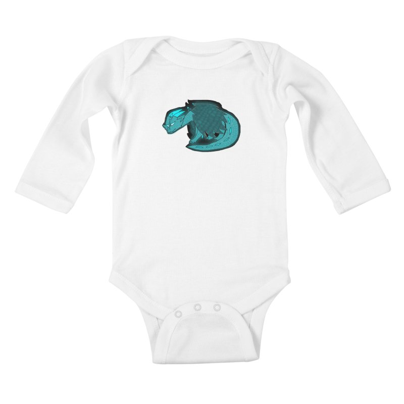 HA - Dragon Kids Baby Longsleeve Bodysuit by My pixEOS Artist Shop