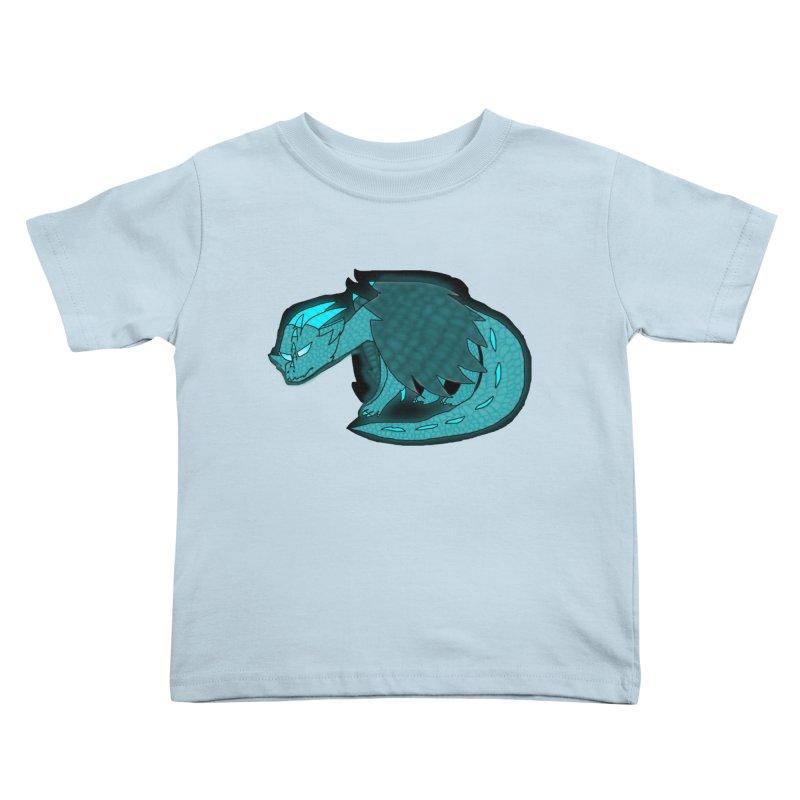 HA - Dragon Kids Toddler T-Shirt by My pixEOS Artist Shop