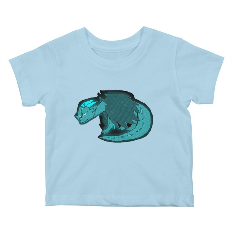 HA - Dragon Kids Baby T-Shirt by My pixEOS Artist Shop