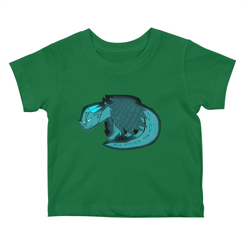 HA - Dragon Kids Baby T-Shirt by My pixEOS Artist Shop