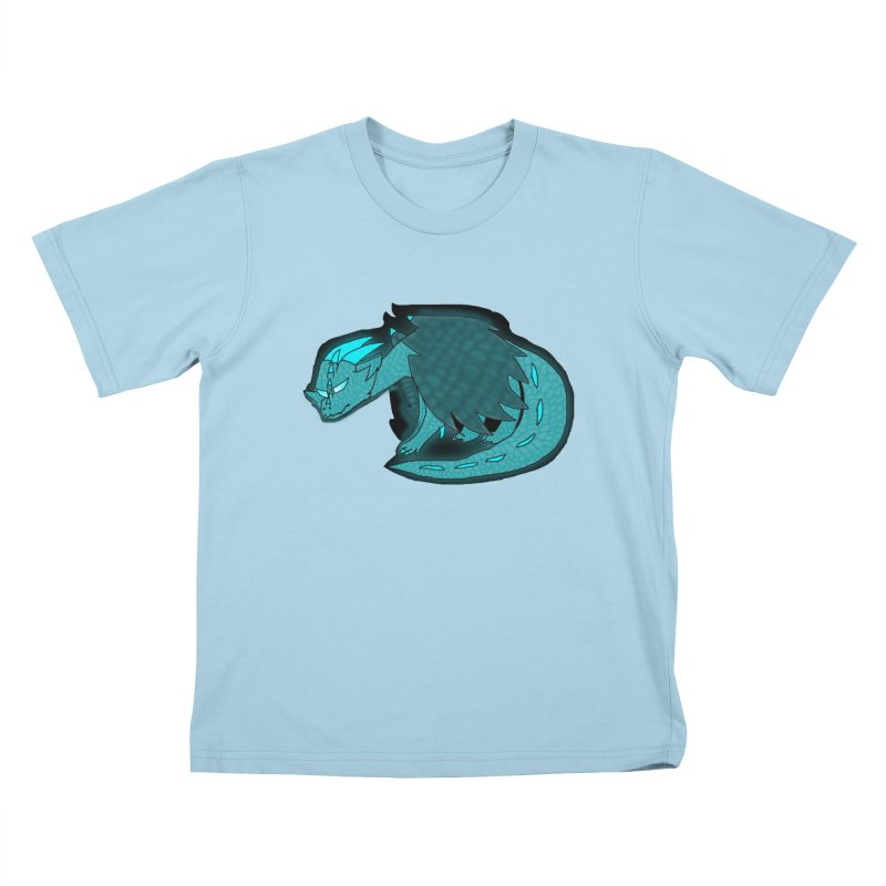 HA - Dragon Kids T-Shirt by My pixEOS Artist Shop