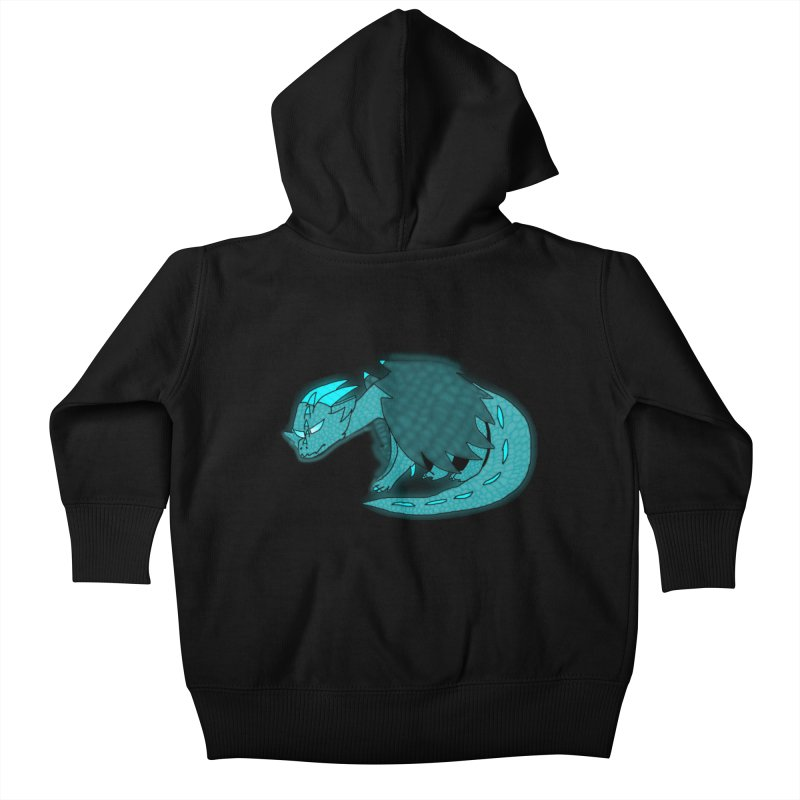 HA - Dragon Kids Baby Zip-Up Hoody by My pixEOS Artist Shop