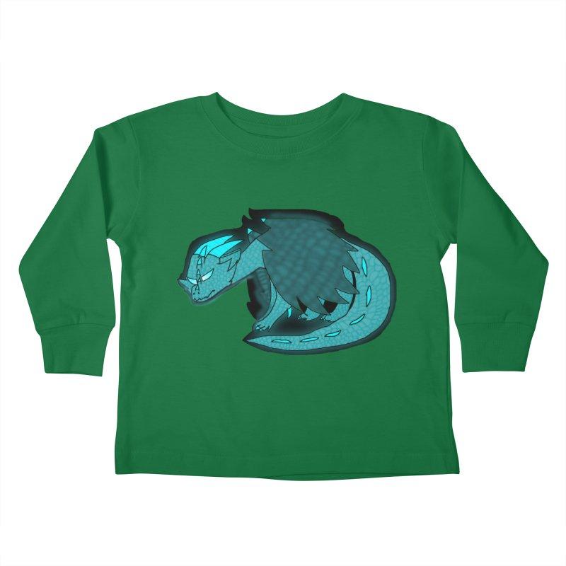 HA - Dragon Kids Toddler Longsleeve T-Shirt by My pixEOS Artist Shop