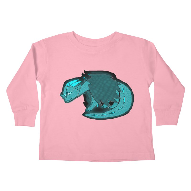 HA - Dragon Kids Toddler Longsleeve T-Shirt by My pixEOS Artist Shop
