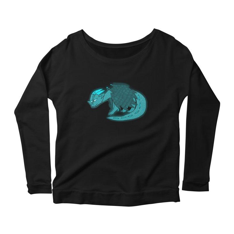 HA - Dragon Women's Scoop Neck Longsleeve T-Shirt by My pixEOS Artist Shop
