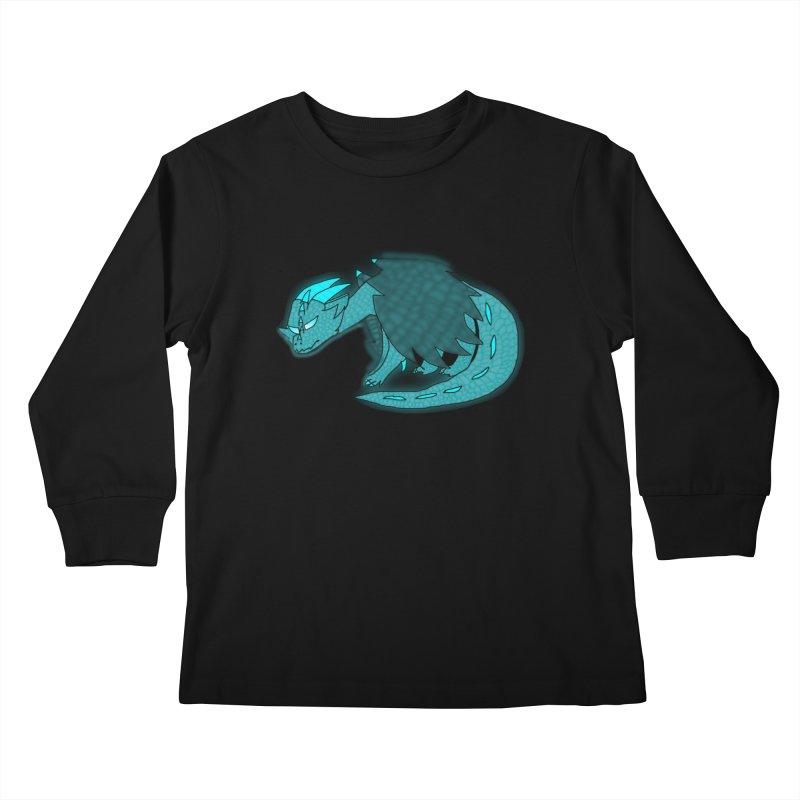 HA - Dragon Kids Longsleeve T-Shirt by My pixEOS Artist Shop