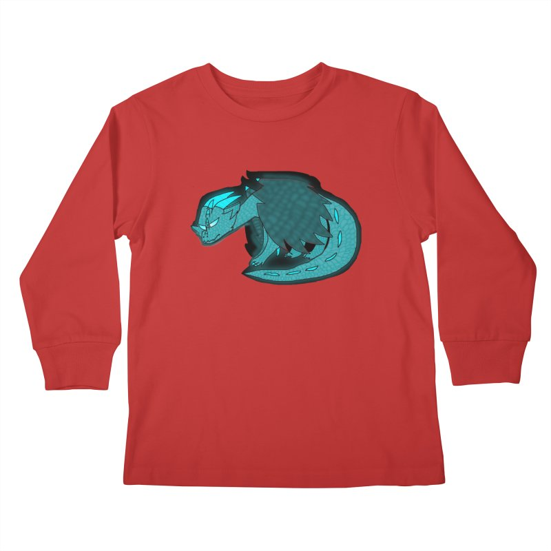 HA - Dragon Kids Longsleeve T-Shirt by My pixEOS Artist Shop