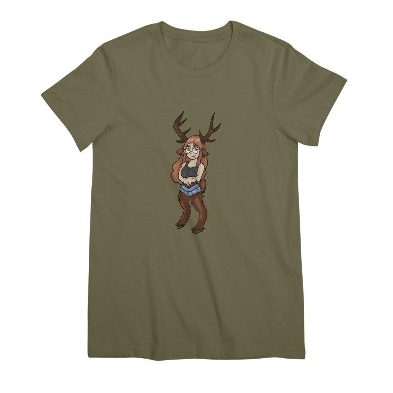HA - Everest Women's Premium T-Shirt by My pixEOS Artist Shop