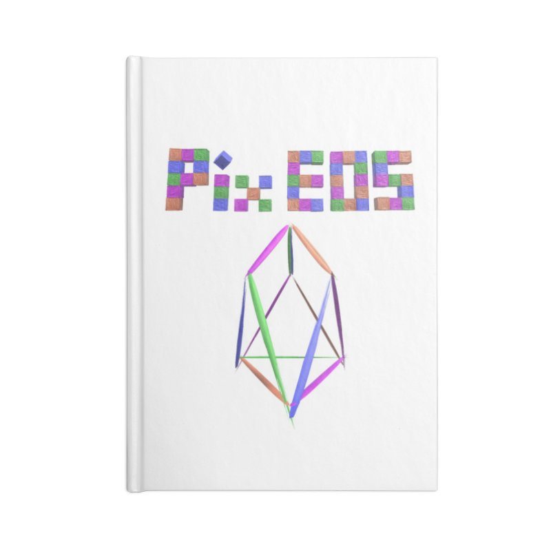 HA - pixEOS Logo Accessories Lined Journal Notebook by My pixEOS Artist Shop