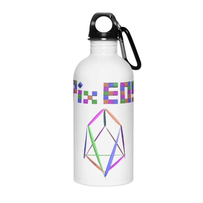HA - pixEOS Logo Accessories Water Bottle by My pixEOS Artist Shop