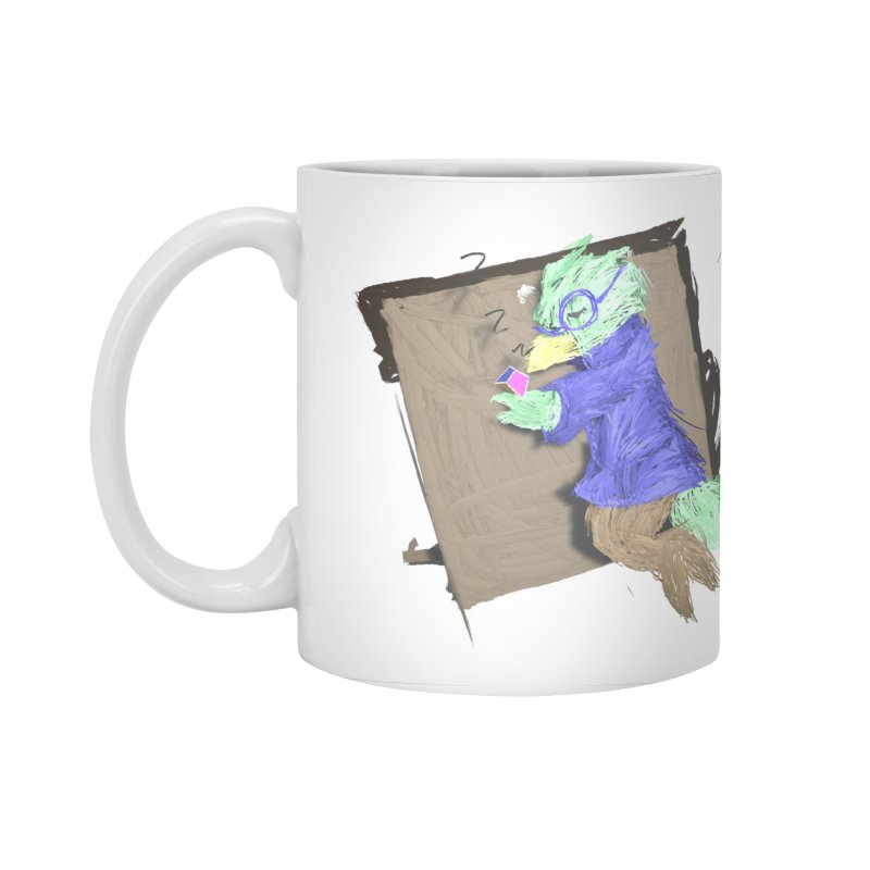 HA - pixEOS Bird Accessories Standard Mug by My pixEOS Artist Shop