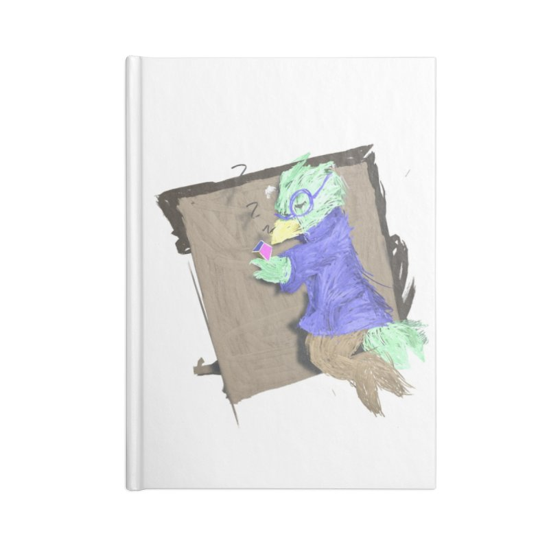 HA - pixEOS Bird Accessories Lined Journal Notebook by My pixEOS Artist Shop
