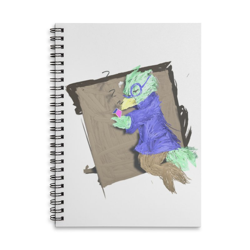 HA - pixEOS Bird Accessories Lined Spiral Notebook by My pixEOS Artist Shop