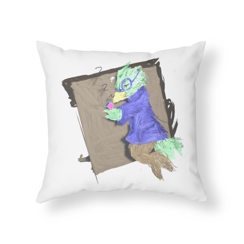 HA - pixEOS Bird Home Throw Pillow by My pixEOS Artist Shop