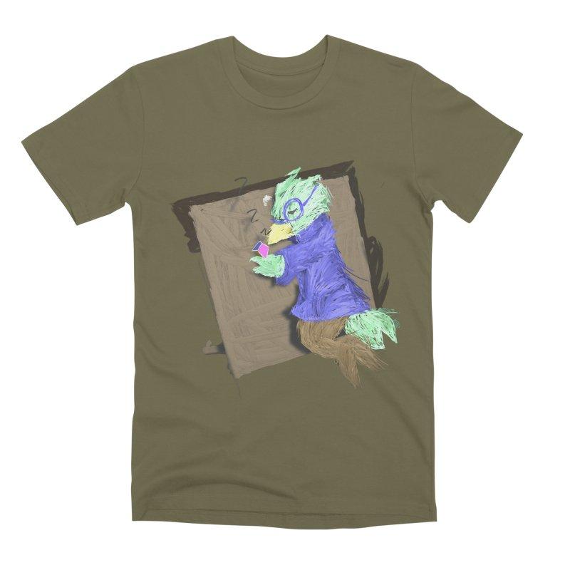 HA - pixEOS Bird Men's Premium T-Shirt by My pixEOS Artist Shop