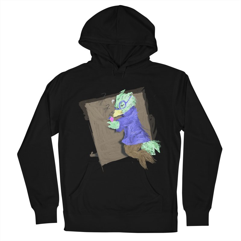 HA - pixEOS Bird Women's French Terry Pullover Hoody by My pixEOS Artist Shop