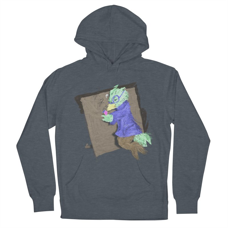 HA - pixEOS Bird Men's French Terry Pullover Hoody by My pixEOS Artist Shop