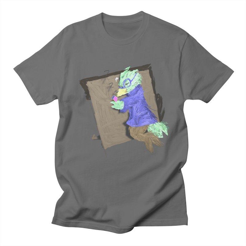 HA - pixEOS Bird Men's T-Shirt by My pixEOS Artist Shop