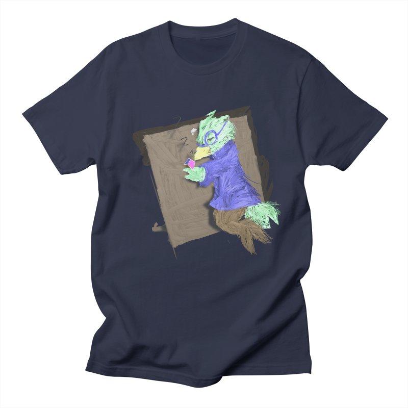 HA - pixEOS Bird Men's Regular T-Shirt by My pixEOS Artist Shop