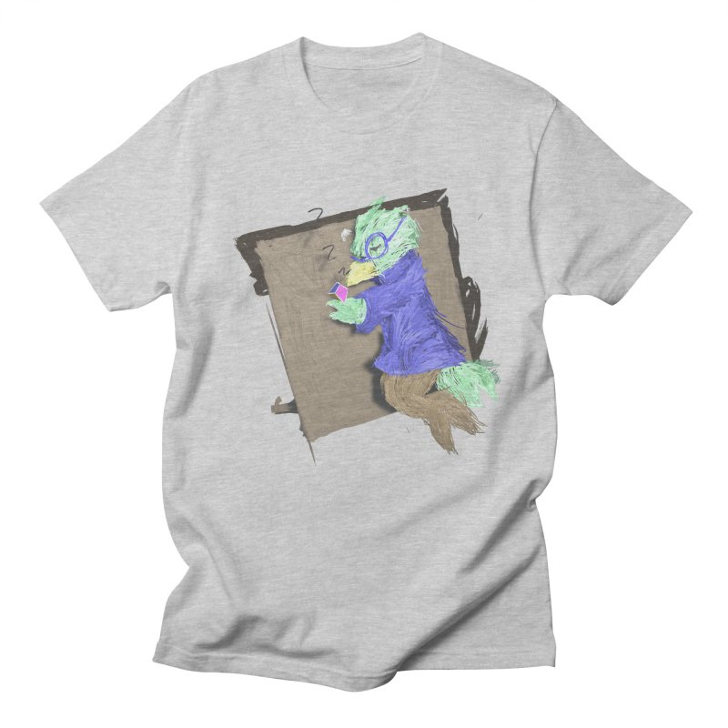 HA - pixEOS Bird Men's Regular T-Shirt by My pixEOS Artist Shop