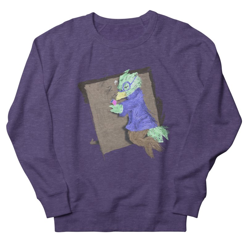 HA - pixEOS Bird Women's French Terry Sweatshirt by My pixEOS Artist Shop