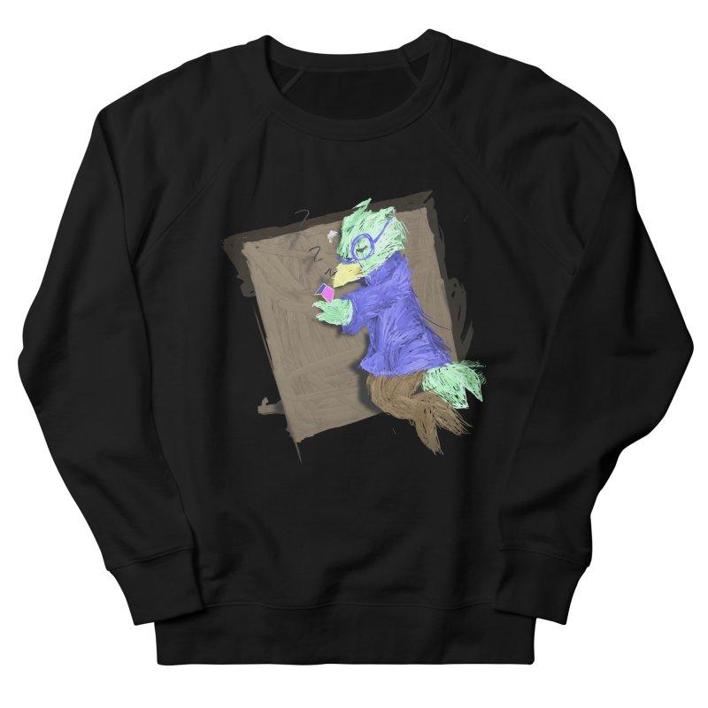 HA - pixEOS Bird Men's French Terry Sweatshirt by My pixEOS Artist Shop